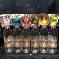 Disney x evian Bottle caps Collection Lot Set of 6 complete Mickey Donald Goofy