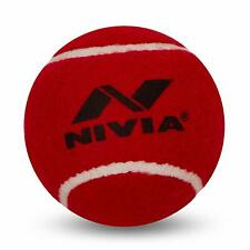 Nivia Heavy Tennis Ball Cricket Ball (Pack of 6)