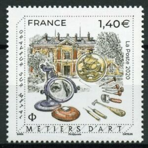 France Crafts Stamps 2020 MNH Metal Engraver Metiers D'Art Handicrafts 1v Set
