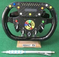 Fernando Alonso HALF SIZE replica Renault R26 steering wheel _F1. Not Amalgam.