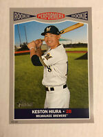 KESTON HIURA 2019 Topps Heritage Performers 5x7 JUMBO SP RC 46/49! BREWERS!
