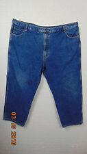 FALLS CREEK size 50x30 Dark Blue Denim Jeans~Classic Straight