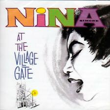 NINA SIMONE - NINA AT THE VILLAGE GATE (NEW SEALED CD)