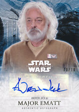Topps Star Wars The Force Awakens Series 2 Andrew Jack Autograph Auto 10/10