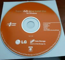 Super Multi Drive Install Disc -  PC CD ROM - FREE POST