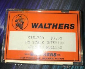 Walthers 933-720 HO Scale Interior Athearn Pullman