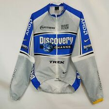 Nike Team Discovery Channel Lance Armstrong Cycling Jacket Sz M Trek Livestrong