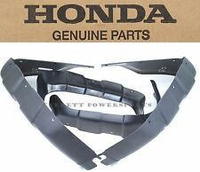 New Genuine Honda Black Fender Splash Mud Guard Set '00-03 Rancher 350 OEM #P190