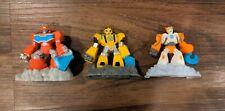 Transformers Rescue Bots Robot Figure Lot Hasbro Blades Heatwave Bumblebee Toy