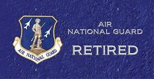 Air National Guard Retired License Plate -LP351