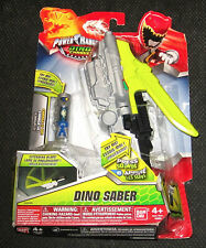 POWER RANGERS DINO SUPER CHARGE DINO SABER SABRE WITH CHARGER NEW Toy Rare