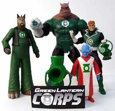 DC Universe Classics and DC Direct Green Lantern Corp Loose Action Figure Set