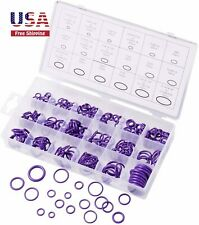 Rubber O Ring Grommets Seal Gasket Washer Assortment Set 18 Sizes 270 pcs purple