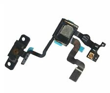Original iPhone 4s Power Button set sensor de luz + auricular + soporte sensor flex