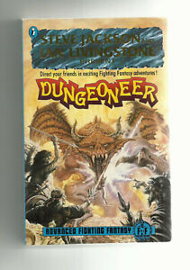 PUFFIN - ADVANCED FIGHTING FANTASY RPG, DUNGEONEER (1987 1st edition)