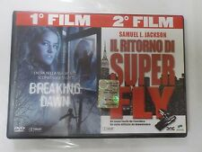 BREAKING DAWN / IL RITORNO DI SUPER FLY - 2 FILM IN DVD - COMPRO FUMETTI SHOP