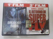BREAKING DAWN / IL RITORNO DI SUPER FLY - 2 FILM IN DVD - COMPRO FUMETTI SHOP