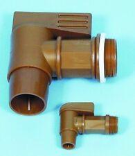 "B22-00098 - Polyethylene Drum tap 2"" BSPT Male Thread"