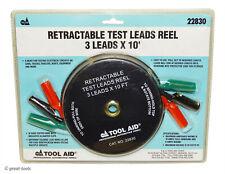 10' RETRACTABLE TEST LEAD REEL – automotive mechanic electronic diagnostic tools