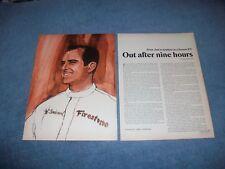"1966 Bob Bondurant Driving Ferrari 330P3 at Sebring ""Out After Nine Hours"""