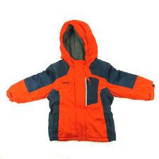 Oshkosh  B'gosh Puffer Hooded Lined Coat Jacket Red Blue Kids (Size 24M)