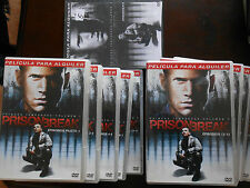 DVD PRISON BREAK PRIMERA TEMPORADA COMPLETA- EDICION DE ALQUILER-VER DESCRIPCION