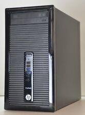 HP ProDesk 400 G1 MT G-Series 3.00 GHz 500GB HDD 8GB DDR3 1600MHz Windows 7 WiFi