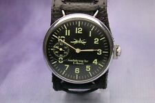 GERMAN SUBMARINE DESTROYER MILITARY WATCH WW2 TYPE VINTAGE SERVICED WORKING