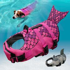 Safety Pet Dog Life Jacket Preserver Swimming Floating Jacket Vest S M L