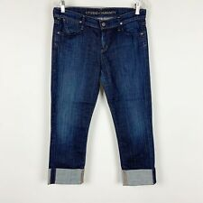 Citizens Of Humanity Womens Sz 29 Dani Jeans Straight Crop Dark Wash Stretch