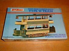 Keil Kraft Model Kit West Ham Corporation Type 'A' Tram