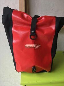 Ortlieb Classic Fahrradtasche rot