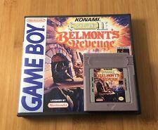 Castlevania: Belmont's Revenge w/ New Custom Case - Nintendo Game Boy Color GBC