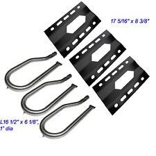 Nexgrill 720-0011,720-0047-U Replacement Heat Plate and Burner- 3 Pack