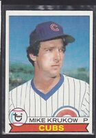 1979  MIKE KRUKOW -Topps Baseball Card # 592 - Chicago Cubs - Vintage