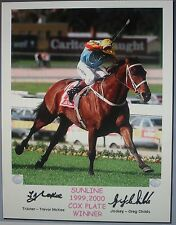 SUNLINE COX PLATE signed Print