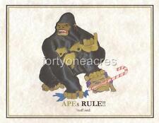 MASCOT Series - Alpha Phi Alpha Print - APEs RULE!!