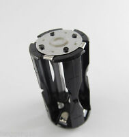 Black Parallel Adapter Battery Holder DC 1.5V Case Box Convert 4 AAA To 1 C Size