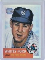2001 Topps Archives Reserves #81 Whitey Ford (Yankees) HOF