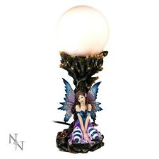 WORKING FAIRY LAMP TYRA BEDSIDE ORNAMENTAL WITH WINGS NEW FROM NEMESIS NOW BOXED