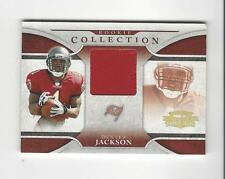 2008 Threads Rookie Collection #9 Dexter Jackson PATCH Buccaneers /25