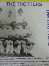 29/03/1975 Oxford United v Bolton Wanderers [Hand signed By Peter Thompson On Te