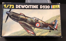 Heller 1/72nd Scale Bell Dewoitine D520 Kit No. 212 in Open Box!!