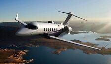 Learjet-85 Bombardier Business Jet Aircraft Desktop Kiln Wood Model Large New