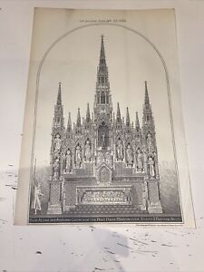 1888 Building News Architecture Antique Church Of Holy Name Manchester