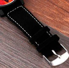 Big Dial Star Wars Kylo Ren Leather Strap Wristwatch Black Wrist Watch W13 A