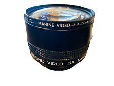 Ikelite Marine Video Lens .5 X W/ Marine VIDEO +4 CLOSE-UP FILTER NICE