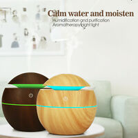 LED Aroma Humidifier Ultrasonic Essential Oil Diffuser Aromatherapy Air Purifier