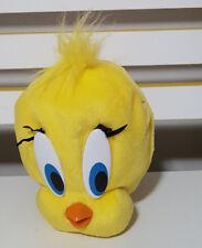 LOONEY TUNES TWEETY PIE BIRD PURSE PLUSH TOY! SOFT TOY ABOUT 15CM TALL KIDS TOY!