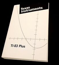 Free Ship - Texas Instruments Ti-83 Plus Graphing Calculator Guide Book Manual
